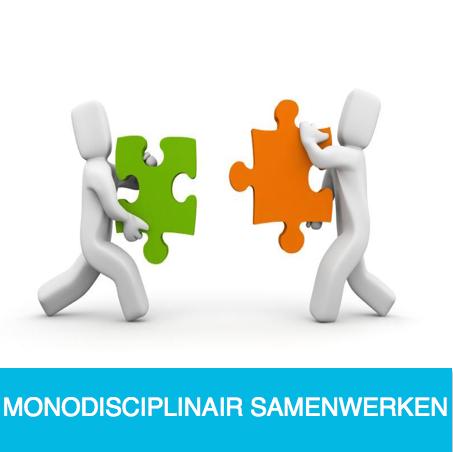 monodisciplinair samenwerken